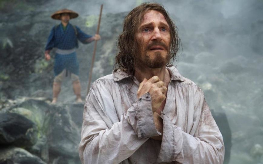 "In ""Silence,"" Liam Neeson's Father Ferreira renounces his faith after his experience in Japan."