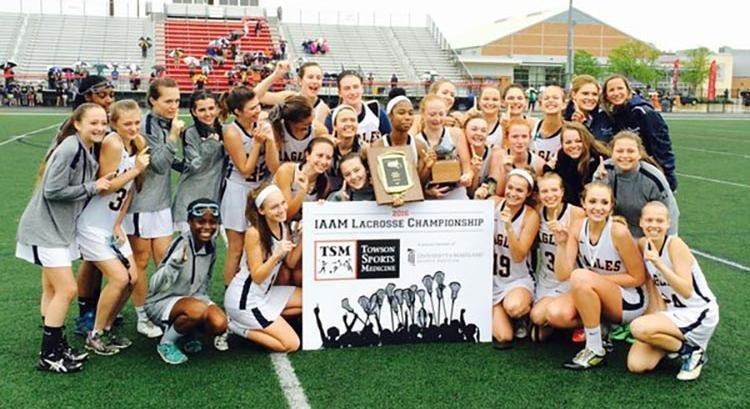 The Annapolis Area Christian School girls lacrosse team won its second consecutive Interscholastic Athletic Association of Maryland C Conference championship on May 14, defeating St. Timothy's 15-10 at Archbishop Spalding High School.