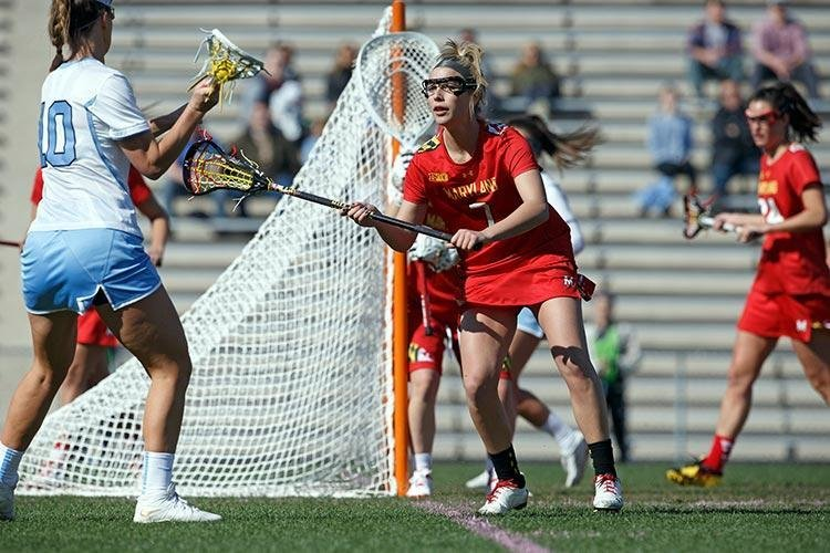After scoring in bunches as a top attack player on multiple Severna Park state championship teams, Morgan Torggler is a now a junior defender for the two-time defending national champion and undefeated, No. 1-ranked Maryland Terrapins.