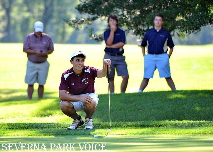 Broadneck's Cameron McCartney paced the field with a nine-hole score of 38 at Chartwell Country Club on August 25 as the Bruins started the season with a win over South River, Severna Park and Arundel.