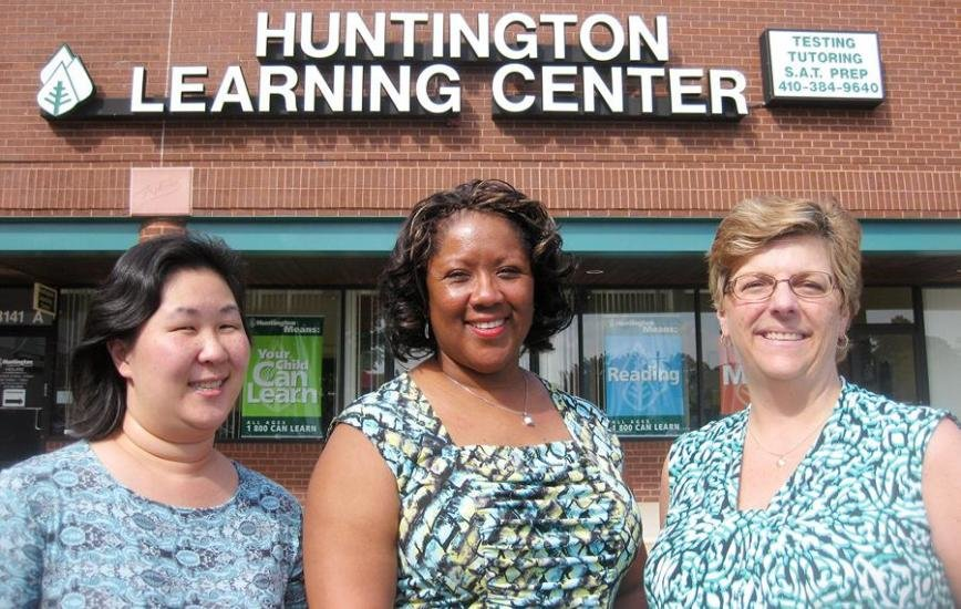 (L-R) Clare Ryan, Cheryl Queen and Donna Stolarczyk lead a staff at Huntington Learning Center in Pasadena that is committed to helping local students succeed academically.