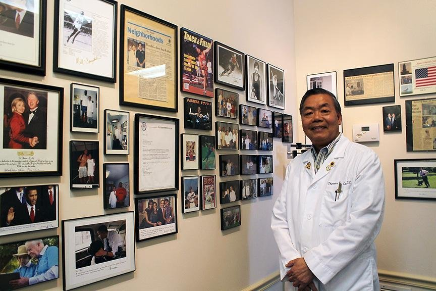 For 30 years, Dr. Lo has been one of the premier chiropractors in the state. He uses a technique called the activator method, which relieves patients without cracking or twisting parts of the body.