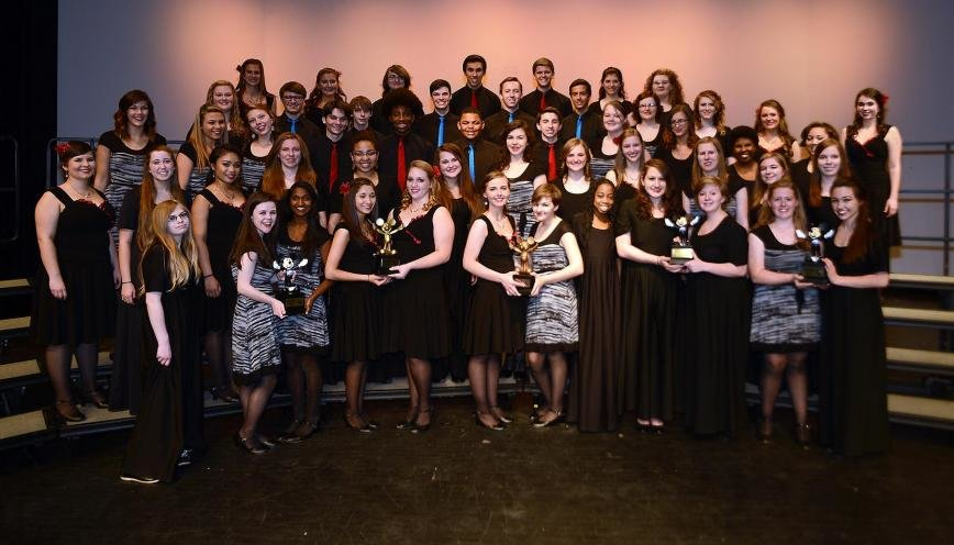 Chesapeake Music Students Sing Their Way To Success At National Competition In Disney Pasadena