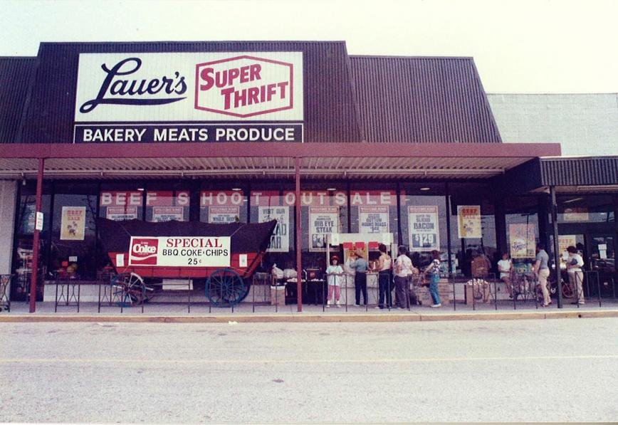 With the opening of its first store at the intersection of Mountain and Tick Neck roads in 1974, Lauer's Supermarket eventually expanded to include a Riviera Beach location (pictured above), which opened in 1982. This year, the grocery store is celebrating its 40th anniversary with an Open House on March 7-8.