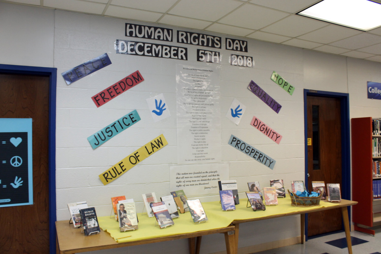 Human Rights Day was held December 5.