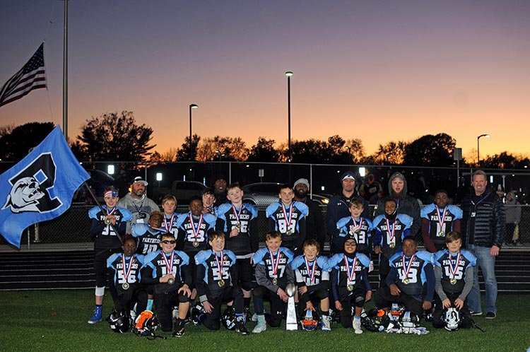 The 11U Panthers went 9-1 overall and finished the season by shutting out Old Mill 32-0 in the Anne Arundel Youth Football Association American division championship game at Severna Park High School on November 10.