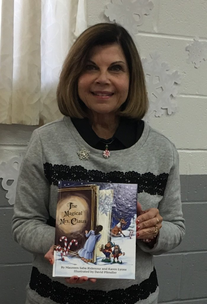 "Maureen Ridenour and her friend Karen Lyons wrote ""The Magical Mrs. Claus"" to pass on the family story told by Ridenour's mom, Elizabeth Saba."