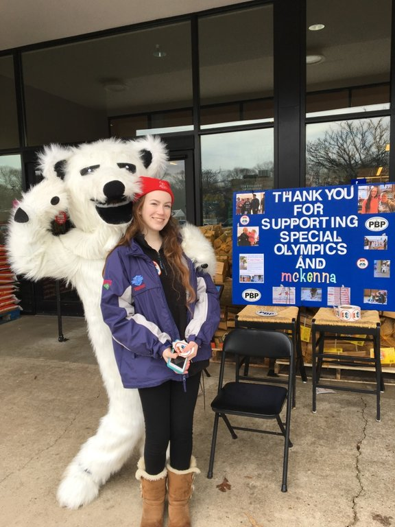 Before McKenna Chadwick can jump into the Chesapeake Bay 24 times over 24 hours, she must raise $10,000 for Special Olympics Maryland by hosting fundraisers.