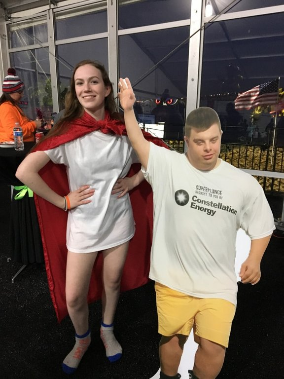 McKenna Chadwick was inspired to become a Super Plunger after her friend, Special Olympian Jimmy Myrick, passed away in 2016.