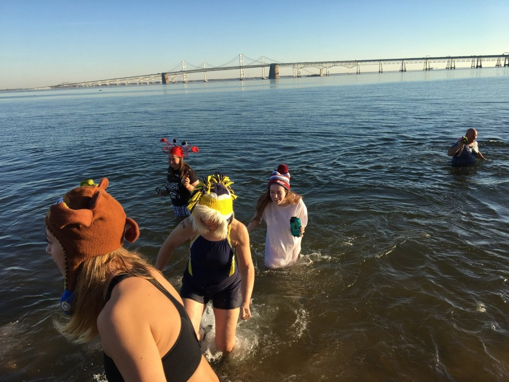 Last year was McKenna Chadwick's first as a Super Plunger. She raised more than $10,000 and entered the frigid Chesapeake Bay 24 times in 24 hours.
