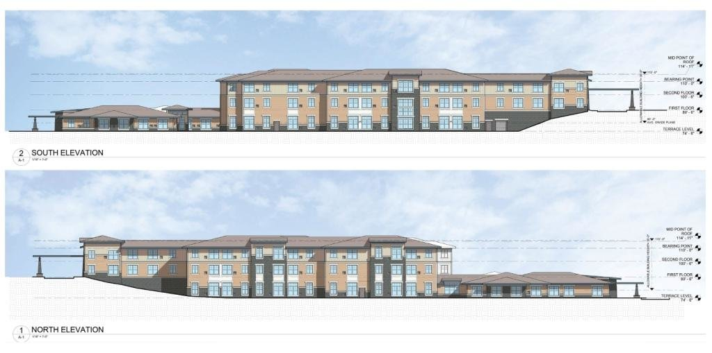 If approved, the Sheridan at Severna Park will have 84 assisted living spaces and 18 units for memory support. The three-story complex will have a maximum height of 35 feet and have a forest buffer.