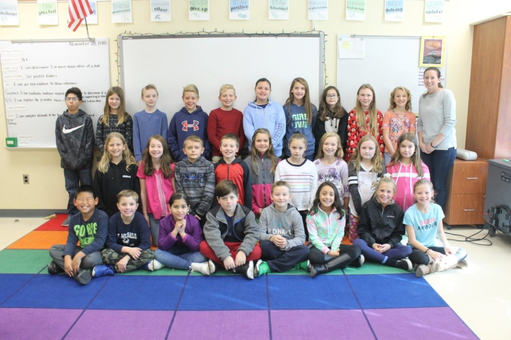 "This month, we asked Ms. Wilder's class, ""If you had an unlimited budget, what gift would you buy and for whom?"""