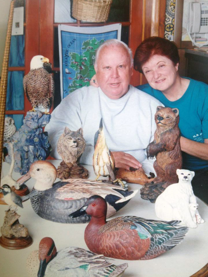 Gordon Hanna enjoyed a 33-year teaching career and he also was an avid woodworker.
