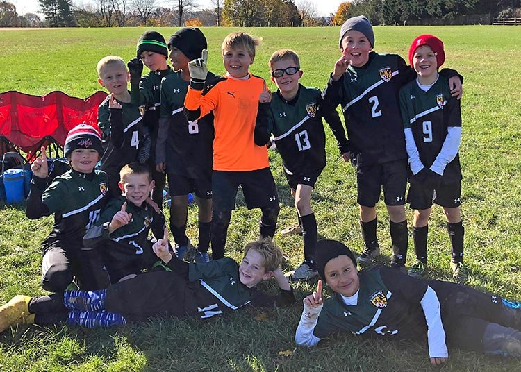 The Severna Park 2009 Premier Green boys soccer team went 4-0 at the Virginia Beach FC Tournament over Columbus Day weekend.