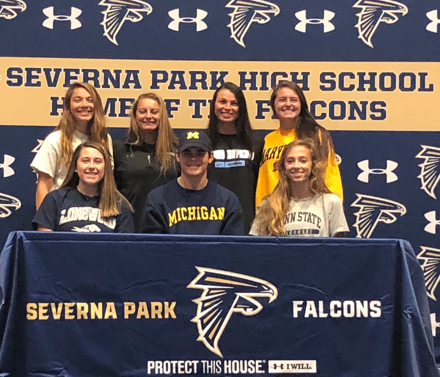 Severna Park student-athletes attended a Signing Day ceremony on November 14.