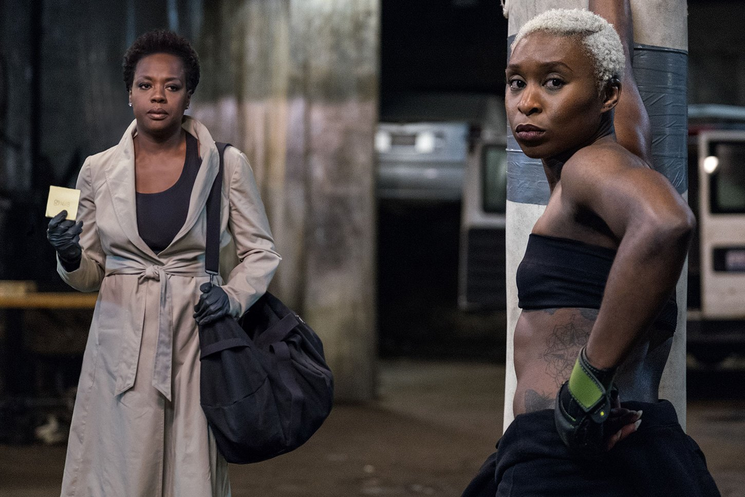 "In ""Widows,"" the female characters are strong women in very different ways, and they each have very different struggles they have to overcome."