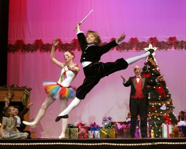 "Derek Dunn first performed ""The Nutcracker"" with Edna Lee Dance Studio when he was 9 years old."