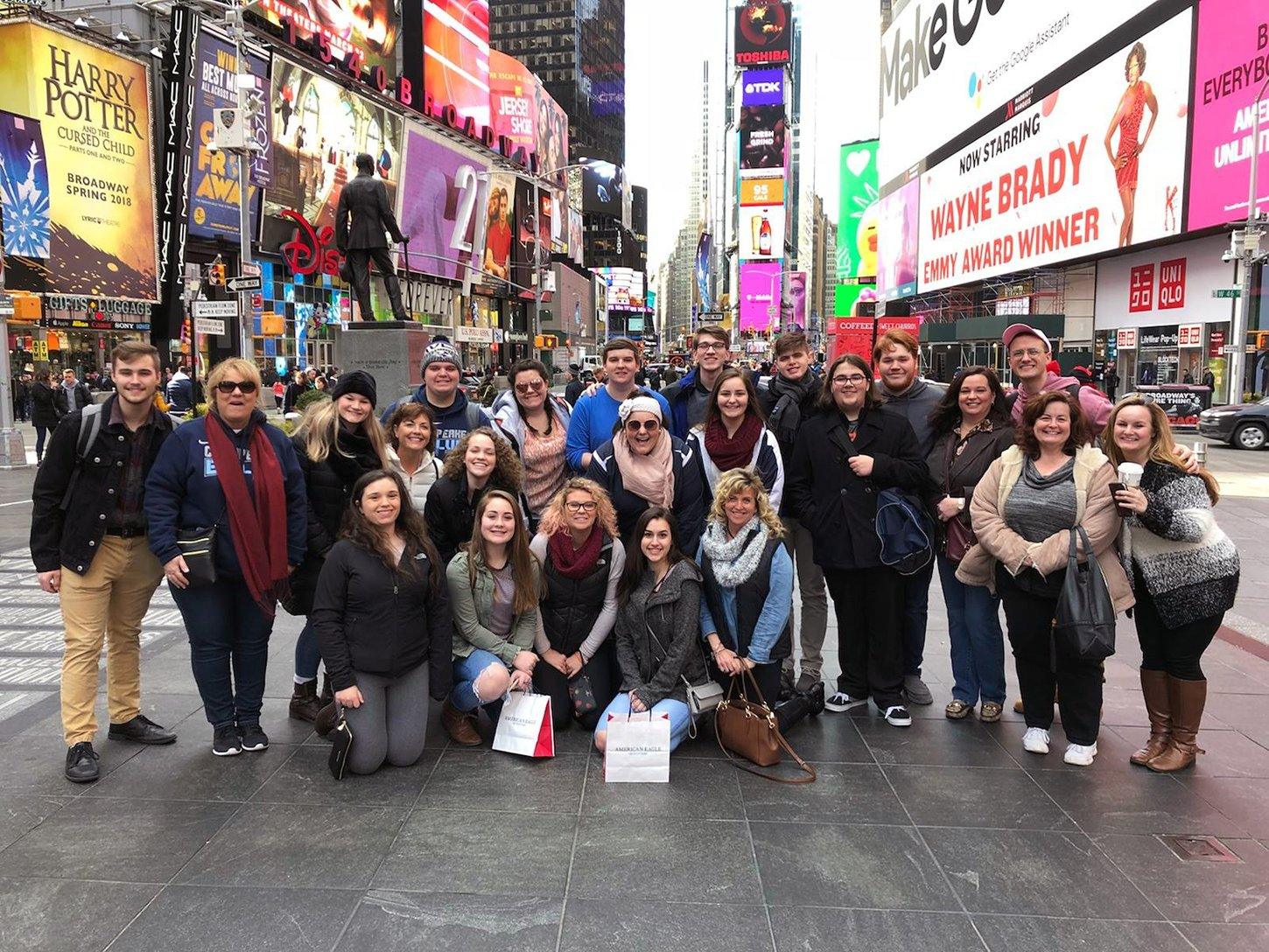Chesapeake High School's a cappella group, Evolve, was invited to New York City in late March, when they performed at Total Vocal with Deke Sharon.
