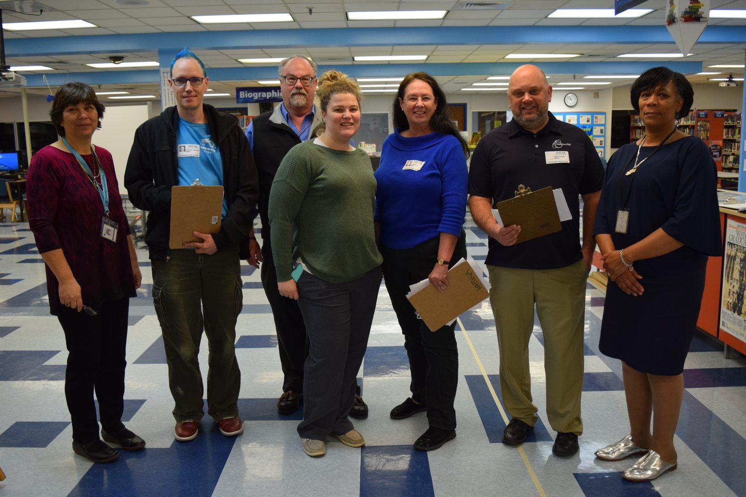 Several judges attended the fair to judge the projects, including people from the Armed Forces Communications and Electronics Association's Central Maryland chapter and LinQuest Corporation.