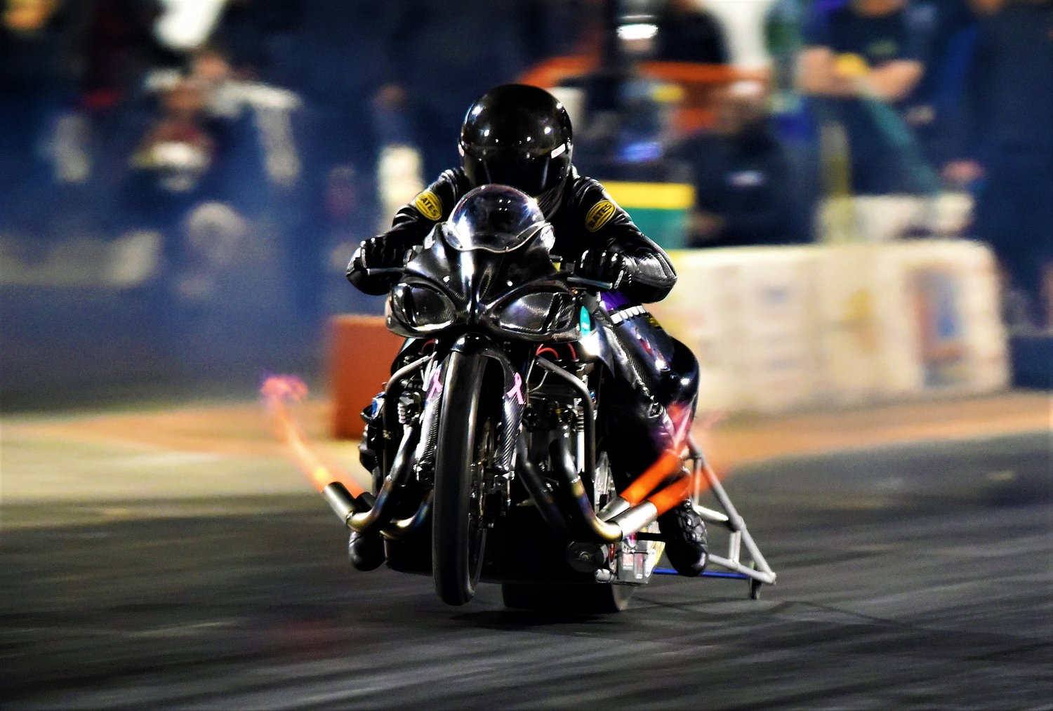 Ronnie Smith of Pasadena has been racing motorcycles for 25 years, first in motocross and for the last six years drag-racing motorcycles, but 2018 proved to be his most successful year to date.
