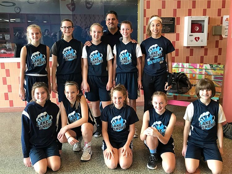 The Lake Shore 12U girls are 3-3 through six games and coming on strong.