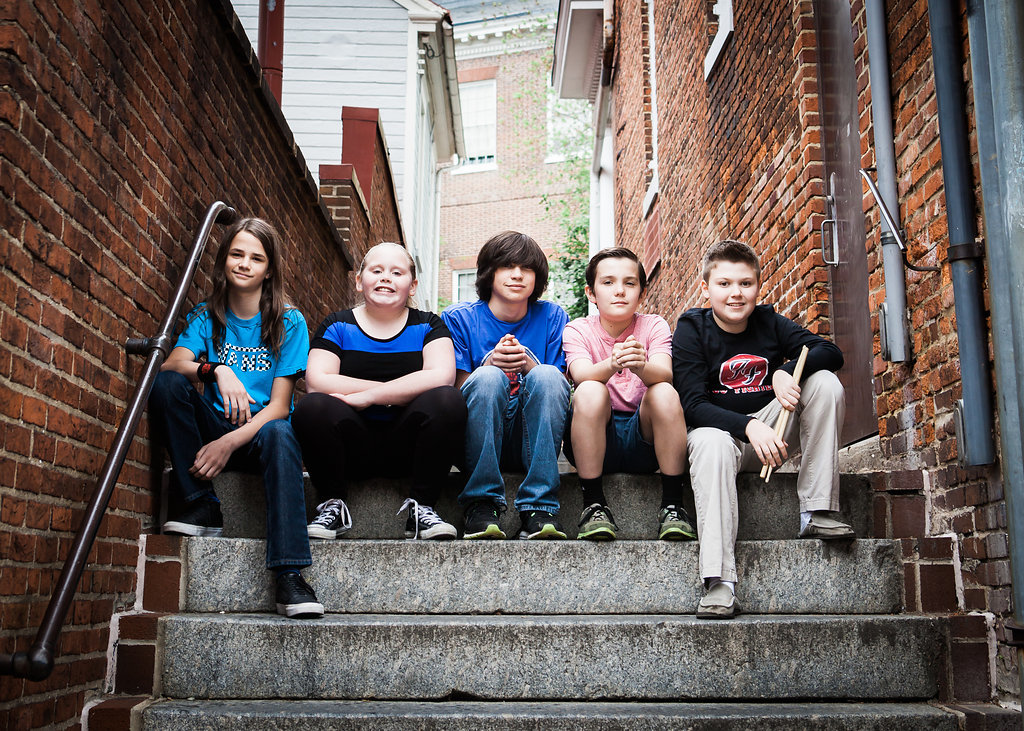 Fast As Lightning consists of five kids ages 12 to 17. The band formed in August 2014 through a performance at School of Rock