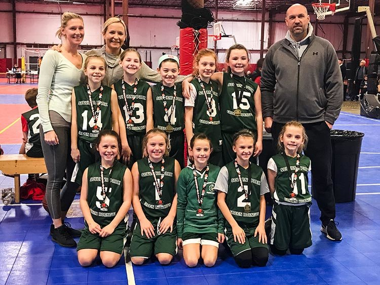 The Severna Park U9 Dominators are undefeated in two leagues this winter and recently took home medals as the winners of the Martin Luther King One-Day Showcase in Jessup.