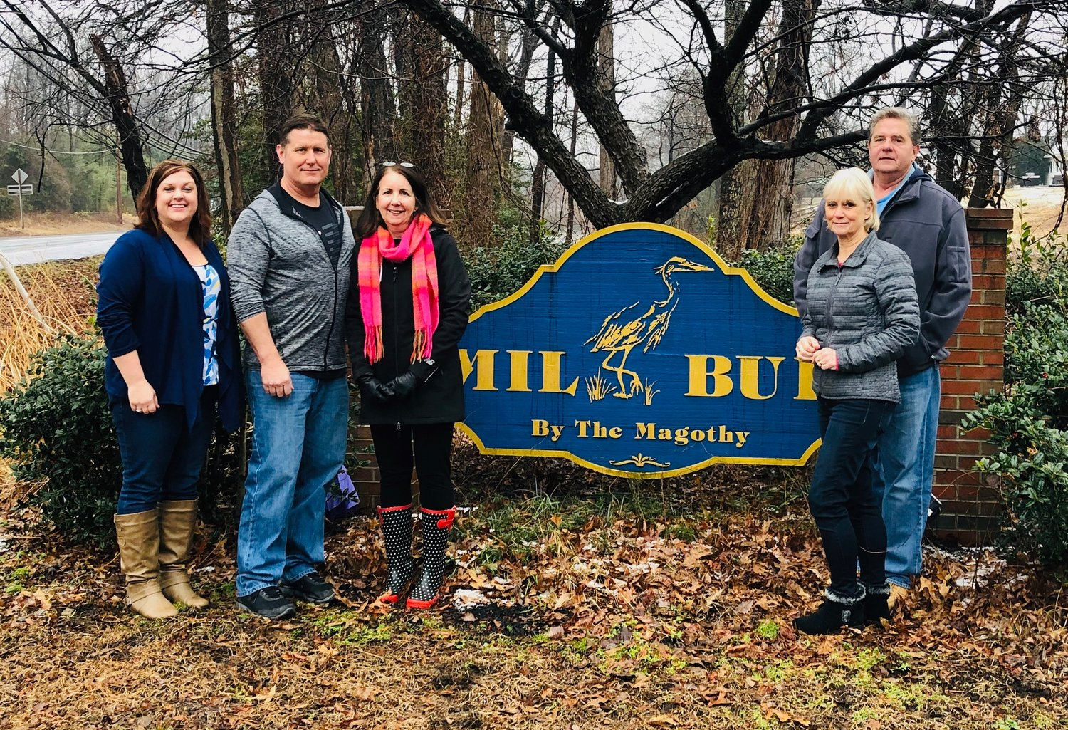 Megan Tuozzo, Glenn Clayville, Denise Pirone, Cindy Ruskey and David Ruskey are proud to call Mil-Bur home.