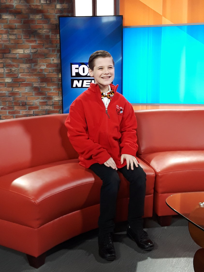 Lake Shore Elementary student Daniel Cox, 10, is one of the newest Chick-fil-A kids correspondents.