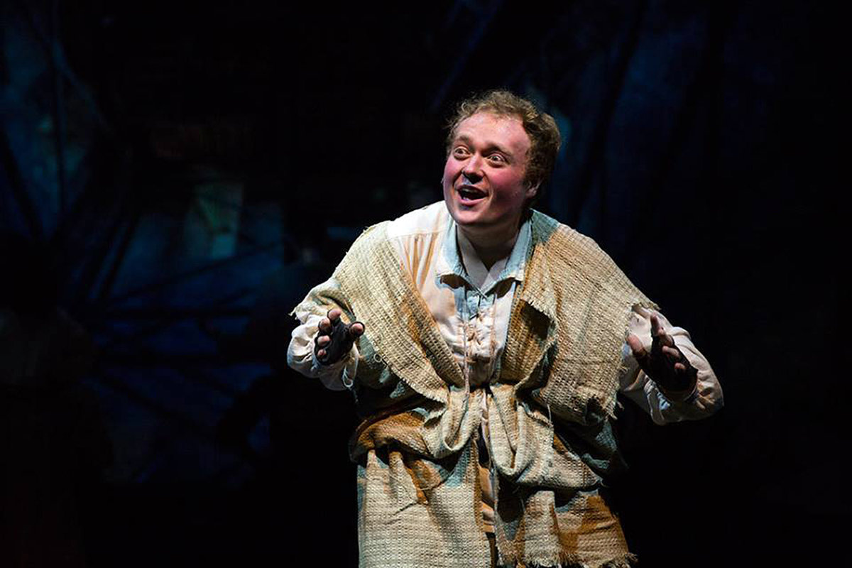 "Samuel Kobrun makes his main-stage Toby's debut in the title role of Quasimodo for ""The Hunchback of Notre Dame,"" playing March 21 to May 19."