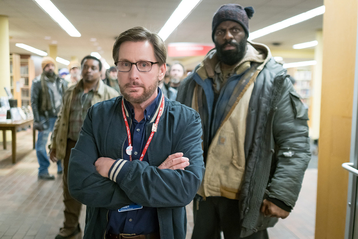 "Based on the real-life story that happened on and off the historically cold streets of Cincinnati, ""The Public"" — written, directed by and starring Emilio Estevez — kicks off the seventh annual Annapolis Film Festival on opening night, March 21."