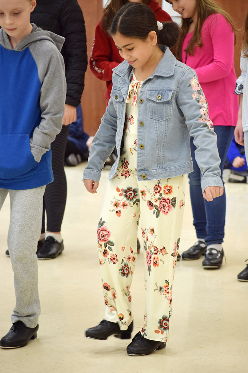 Lake Shore Elementary students spent a week learning the objectives of tap dancing.