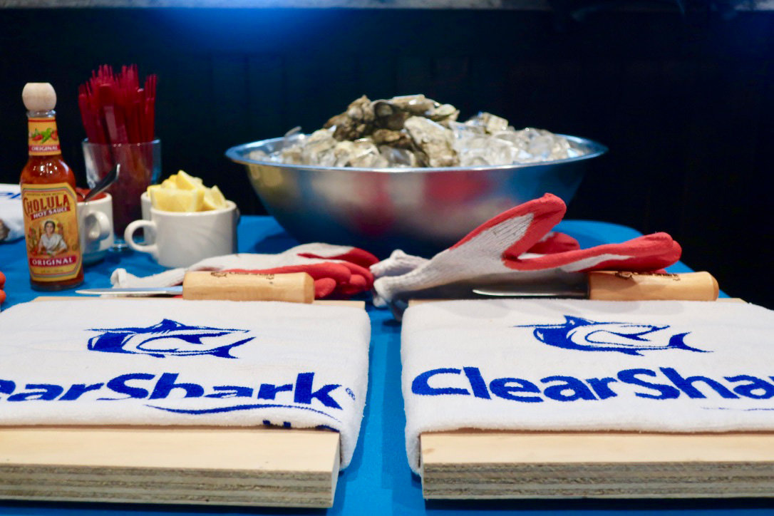ClearShark H2O's fifth annual brunch drew a crowd of 300 to Two Rivers Steak & Fish House for a morning of socializing and fundraising.
