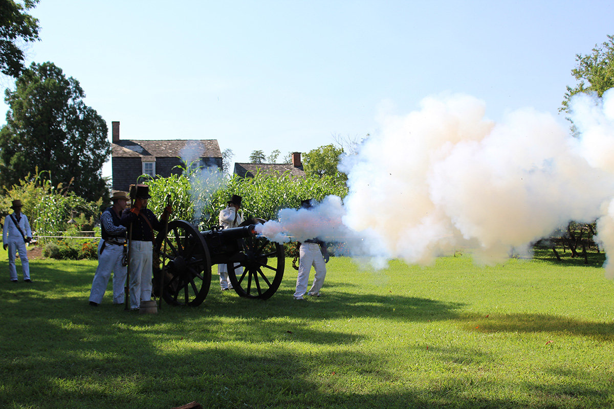 The spring farm festival on April 22, Memorial Day musket firing demonstrations on May 26, and the remembrance of the War of 1812 on August 18 are just a few of the noteworthy events scheduled for Hancock's Resolution in 2019.