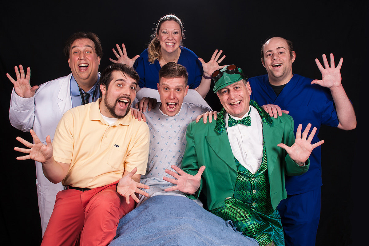 "The musical ""A New Brain"" opens at Colonial Players on April 12 and runs through May 5."