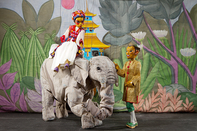"""The """"Lost"""" Art: Stevens Puppets Brings Marionettes To Anne"""