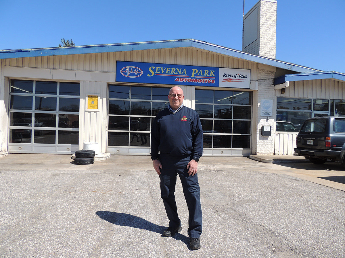 Mike McNealey recently became sole proprietor of Severna Park Automotive following the retirement of his two partners of 20 years.