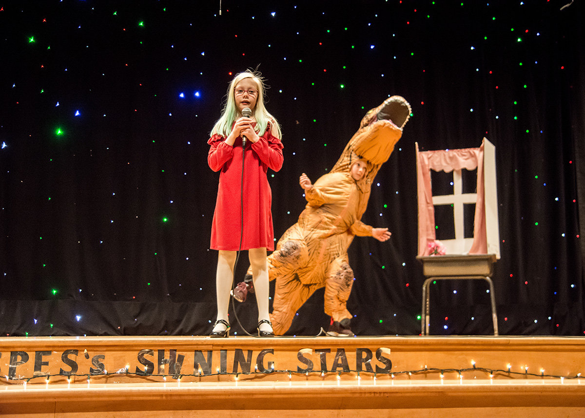 The variety show features 46 acts and 150 students having their shining star moments.