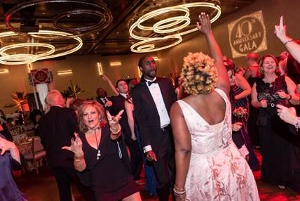 Another part of Hospice of the Chesapeake's history is that there is always plenty of dancing at its galas, and this 40th anniversary celebration was no exception.