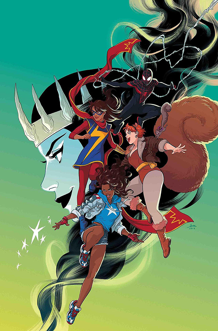 "The first installment of the ""Marvel Rising"" miniseries was released March 27, 2019."
