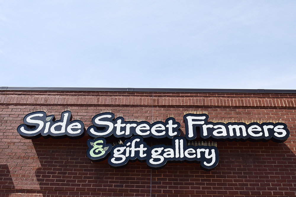 Side Street Framers is celebrating 30 years in Severna Park.
