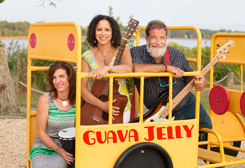 Guava Jelly plays a wide range of music that appeals to large audiences.