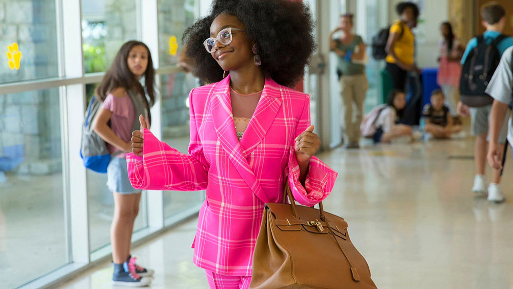 Marsai Martin absolutely shines as the 13-year-old version of Jordan, capturing the mannerisms and attitude of her adult counterpart perfectly, but the rest of the movie doesn't hold up as well.