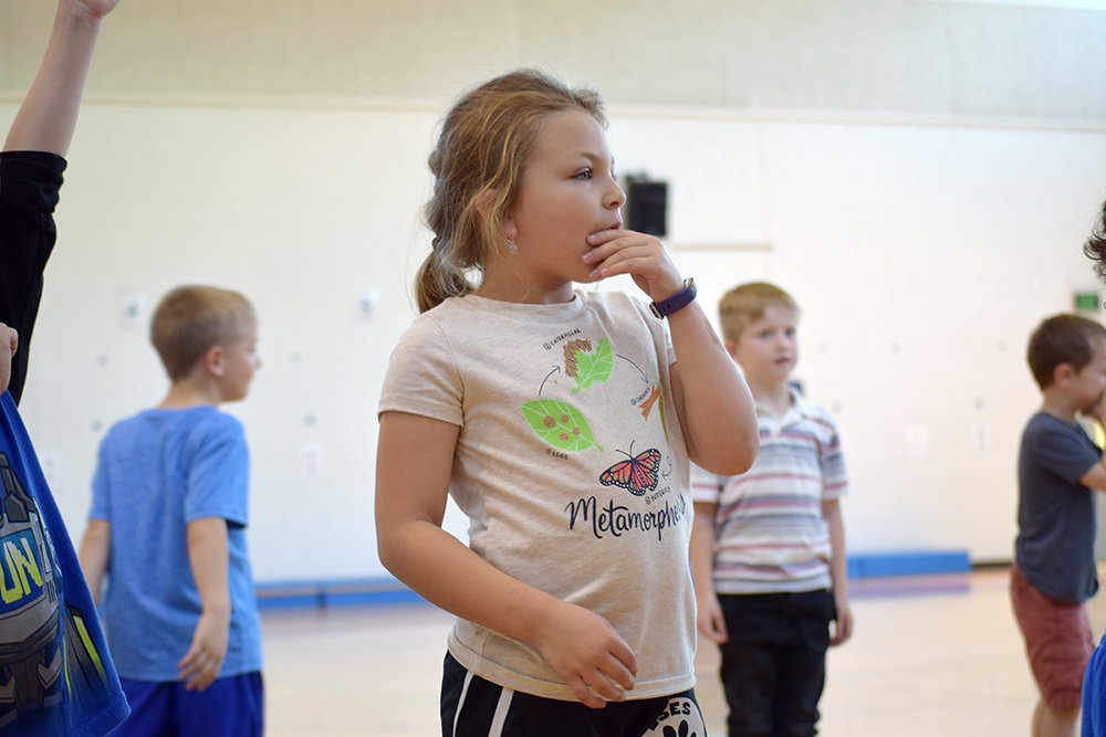 From February through June, a kindergarten class at Lake Shore Elementary learned science and social studies curriculum through dance.