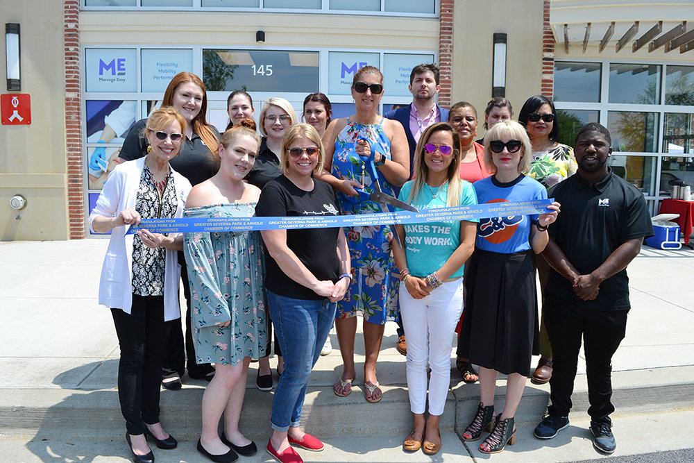 Ribbon Cutting Massage Envy Moves To New Home In Magothy