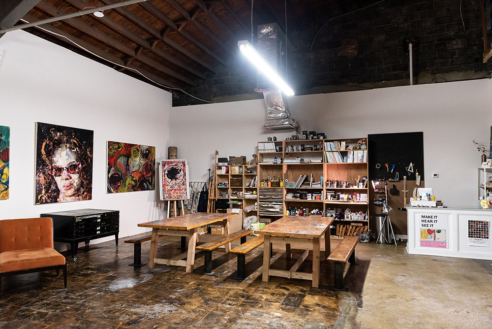 ArtFarm is utilizing every inch of its 3,000-square-foot space as a creative hub of expression to support the arts, including new artists who are finding their way.