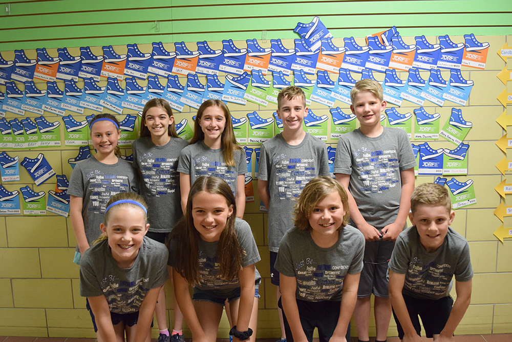 Fifth-graders at Shipley's Choice Elementary raised more than $8,000 for JDRF.