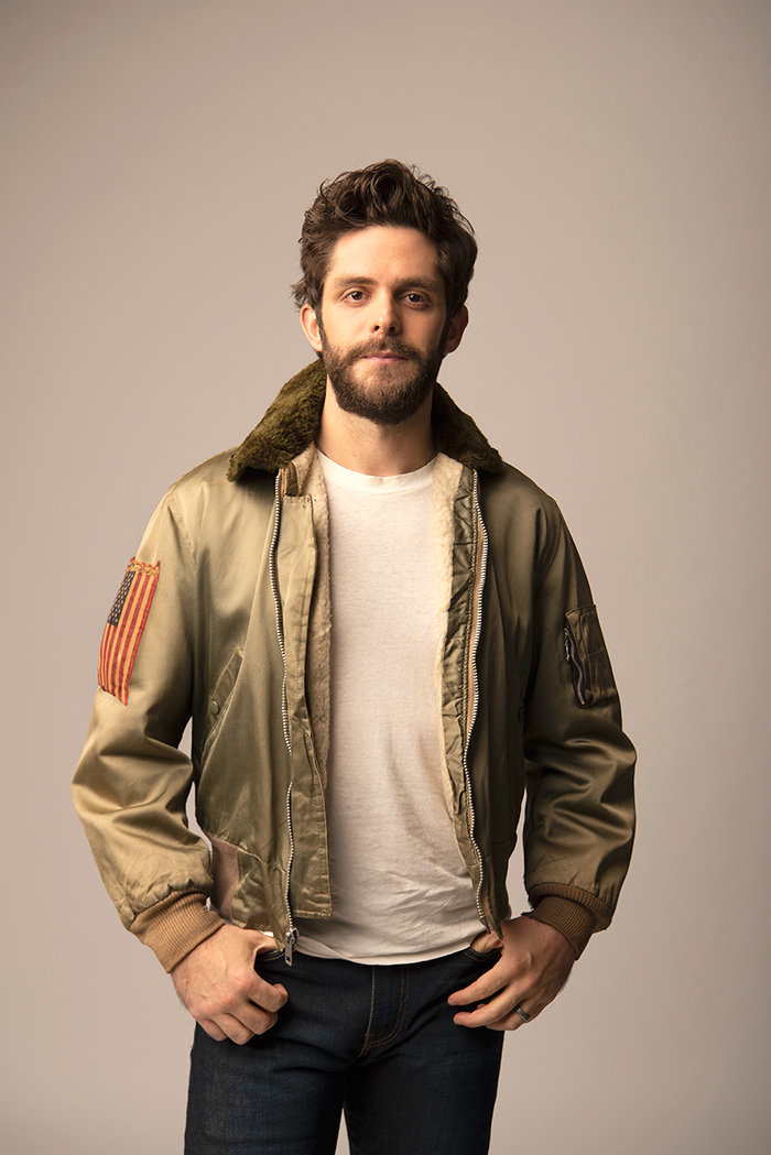 "Thomas Rhett will perform songs from his newest album, ""Center Point Road,"" at Merriweather Post Pavilion on Thursday, July 18."