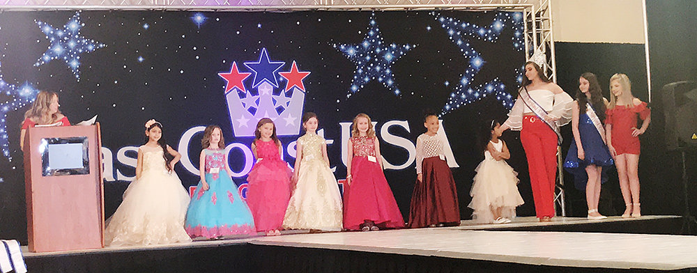 After finishing in first place for her age group at the Miss East Coast USA Beauty Pageant in March, Sophia Biddle is eager to show off her personality and animal advocacy in the July competition.