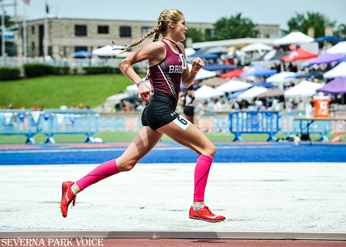 Broadneck's Mollie Fenn was the 4A state champion in the 3200 meter run.